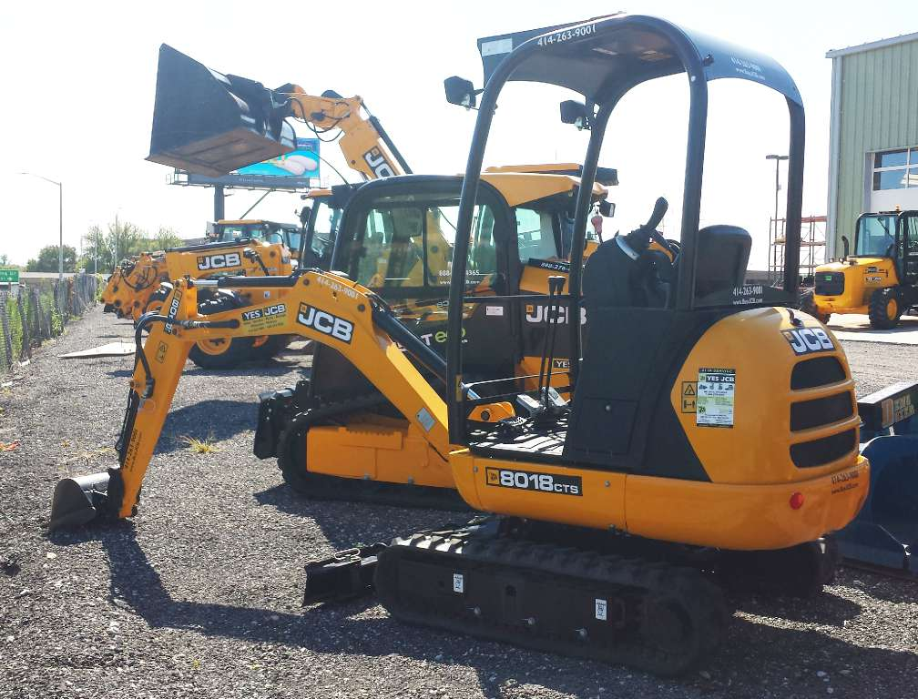 Used, 2015, JCB, 8018 CTS, Excavators
