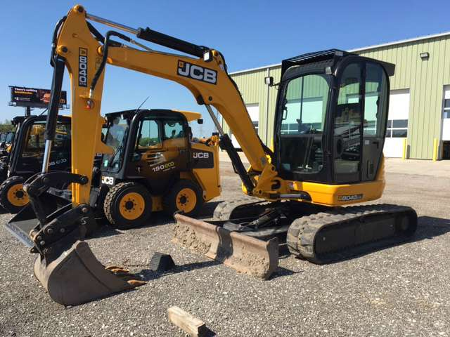 Used, 2015, JCB, 8040 ZTS, Excavators