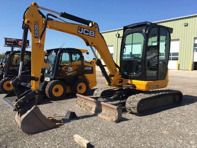 Used, 2015, JCB, 8040 ZTS, Excavators